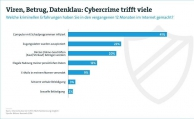 Jeder zweite Internetnutzer ist Opfer von Cybercrime