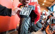 Kleinkrafträder brauchen neues Kennzeichen