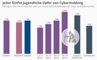 Jeder fünfte Jugendliche ist Opfer von Cybermobbing