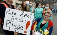 Verdi befürchtet einen Pflegenotstand in Deutschland