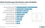 Diese Versicherungen schließen die Deutschen (nicht) im Netz ab