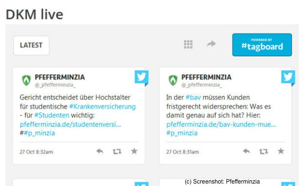 Screenshot: Pfefferminzia