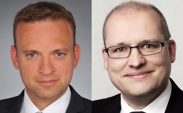 Michael Klüttgens (links) und Frank Scheppers