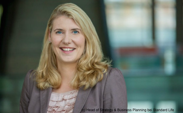 Andrea Helmerich, Head of Strategy & Business Planning bei Standard Life