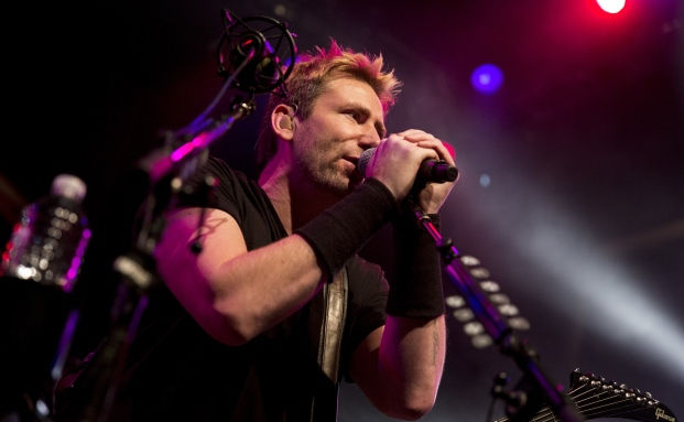Chad Kroeger von der Band Nickelback: Auftritt im House of Blues am Sunset Strip in West Hollywood, Kalifornien - im September 2014