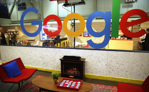 Google Lounge in Manchester, Iowa.
