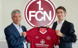 Nürnberger wird Trikotsponsor vom 1. FC Nürnberg