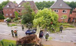 Deutsche unterschätzen die Folgen von Natur-Gefahren