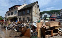 Viele Versicherungsschäden durch Hagel und Überschwemmungen
