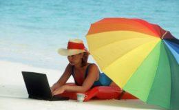 Im Urlaub sicher im Internet unterwegs