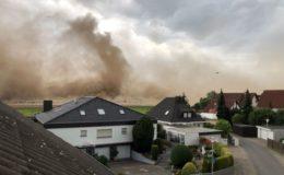 """Versicherungsverband meldet """"außergewöhnliches Sturmjahr"""""""