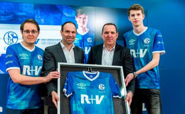 R+V Versicherung sponsert E-Sport beim FC Schalke 04
