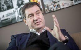 CSU-Chef Söder schlägt Idee eines Rentenschutzschirms vor