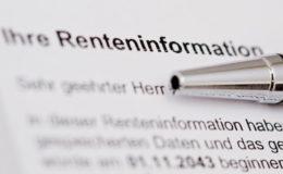 Renteninformationsportal rückt ein Stück näher