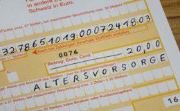 Ein 29-Jähriger muss rund 233.000 Euro fürs Alter sparen