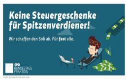 Ex-Ergo-Manager kritisiert SPD-Vorgehen bei Reichensteuer und Soli-Abbau