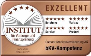bKV-Rating: Gothaer erhält Auszeichnung