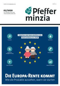 Cover Pfefferminzia-Magazin 01/2020