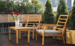 Wie sind eigentlich Gartenmöbel versichert?
