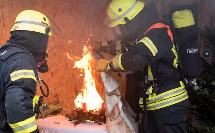 Versicherer warnen vor Feuerschäden