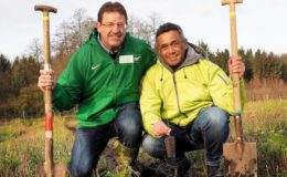 "Initiative ""bessergrün"" pflanzt 10.000 Bäume"