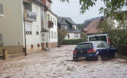 Wie Überschwemmungen durch Starkregen versichert sind