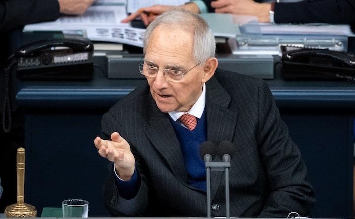 Wolfgang Schäuble kritisiert Rentenpolitik