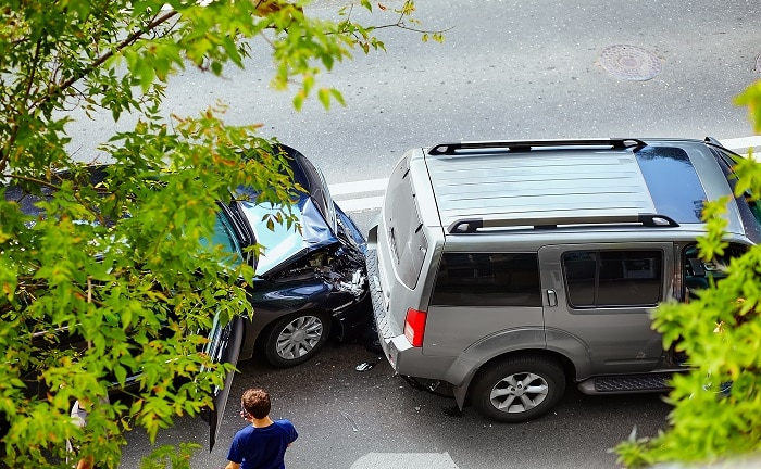 Verkehrsunfälle landen häufiger vor Gericht