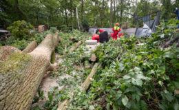 Unwetter wüteten in Bayern am stärksten