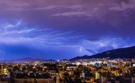 Blitze richteten 2019 deutlich weniger Schäden an