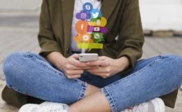 Klemmen Sie einen Prozess hinter Ihre Social-Media-Ansprache