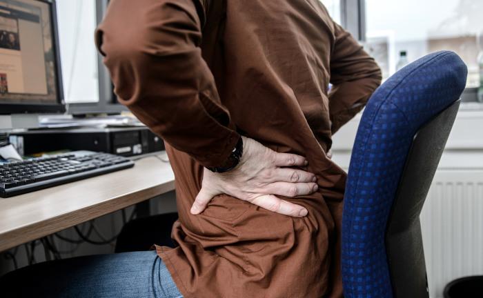Corona-Krise verstärkt Rückenleiden