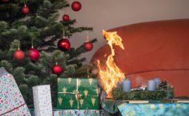In der Weihnachtszeit brennt es häufiger