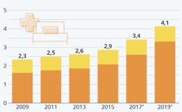 Immer mehr Pflegebedürftige in Deutschland
