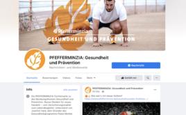 Neue Pfefferminzia-Seite auf Facebook gestartet