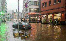 Häuser in Wuppertal am meisten von Starkregen gefährdet