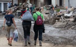 Sind freiwillige Helfer in der Flutkatastrophe gesetzlich unfallversichert?