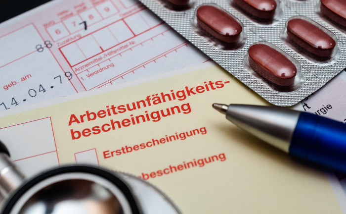 Krankenstand sinkt auf Rekordtief, aber psychische Leiden steigen