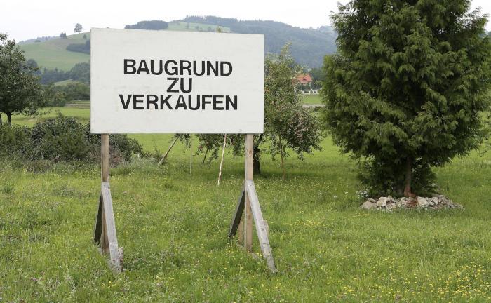 Baulandpreise klettern in Deutschland auf Rekordwert